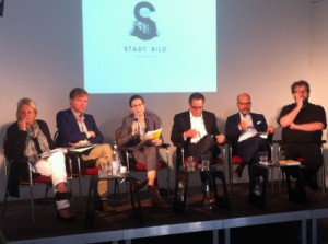 Stadt/Bild press conference and Press Tour intro.