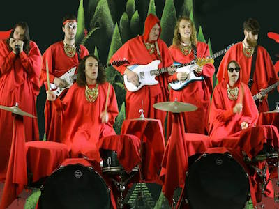 Screenshot of King Gizzard's Gamma Knife video