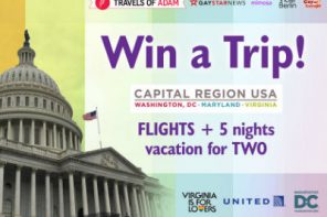 Win a trip to two for lovers, to the US, from Travels of Adam