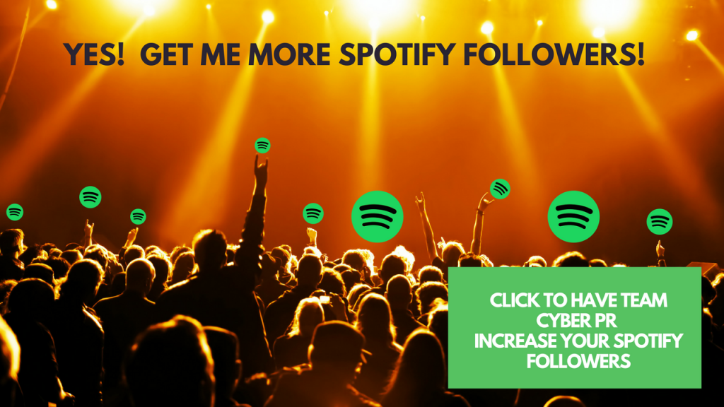 Gain Spotify followers with CyberPR